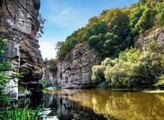 Буцький каньйон. Невідомі водойми України: 15 унікальних озер, водоспадів, каньйонів і заток (фото) ВСВІТІ | в Україні | ВСВІТІ