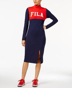 6388d838d886 fila - Shop for and Buy fila Online - Macy s. Fila ShopBlue DressesRioBodycon  ...