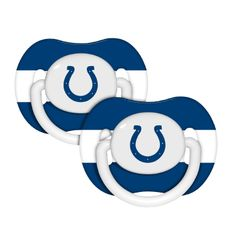 Indianapolis Colts Infant 2-Pack Pacifiers - Royal Blue