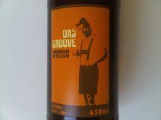 Cerveja Urbana Das Groove, estilo German Weizen, produzida por Cervejaria Urbana, Brasil. 5.2% ABV de álcool.
