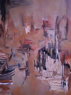 """""""Despertar del tiempo"""" - Mónica Fernández - Oleo Sobre tela - 100 x 90 cm www.esencialismo.com"""
