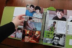 love how cathy zielske mixes up the photo pages in project life ~ love love love the mix! #beckhiggins #cathyzielske #projectlife