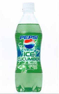 DiscontinuedLimitedTimePepsiProduct(2007) #Pepsi #Ice #Cucumber