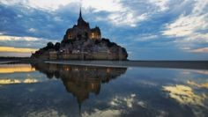 Mont Saint Michel, Normandie Abbaye, France