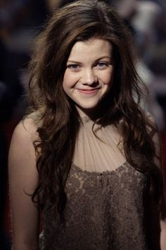 Georgie Henley - either of the Burel sisters - but especially Lanaya - the expression is just right!