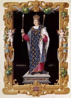 Carlo VIII di Valois detto l'Affidabile 11° Re di Francia