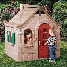 Step2 Storybook Cottage Kids' Playhouse - Walmart.com $369.00  Product in Inches (L x W x H): 50.5 x 55.0 x 64.2
