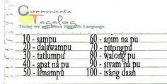 Tagalog - Learn how to count by 10's