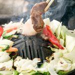 神居古潭 - 料理写真:まずは野菜から