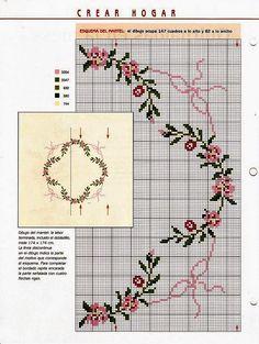 **Blog Amor Perfeito** Gráficos de ponto cruz: Flores diversas