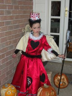 Queen of Hearts costume for ashley