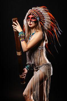 Native American Models, Native American Costumes, Native American Tattoos, Native American Headdress, Native American Pictures, Native American Artwork, Native American Beauty, Native American Indians, American Indian Girl
