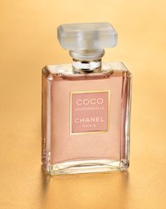 For the designer lover: Chanel #perfume #coco #mademoiselle my moms favorite