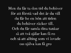Sonja Aldén - Du får inte [Lyrics]