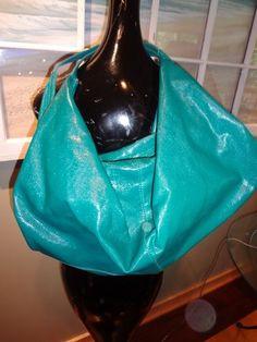 Big Buddha Santa Barbara Turquoise Vegan Large Purse Handbag