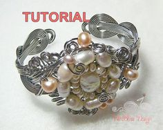 TUTORIAL Braided Wire Cuff Meet Me Halfway by WireBliss on Etsy, $8.00