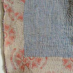 kantha quilt (I love 'em)