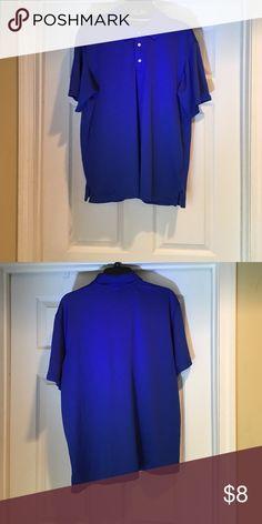 Men's golf polo shirt Royal blue men's golf polo shirt. Barely worn George Shirts Polos