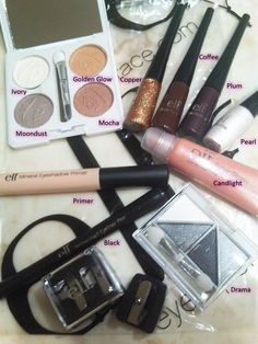 E.L.F. Makeup I have soo much elf makeup I love all their products super good qualified work amazing and are really affordable. Go to your local target