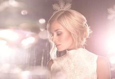 Katherine Jenkins - Love this look, colorization, mood, lighting for christmas photo shoot. Lovely.