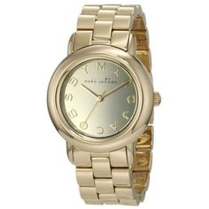 Montre pour femme : Marc by Marc Jacobs MBM3098 Women's Marci Gold Tone Stainless Steel Gold Dia