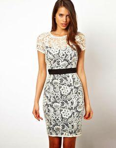 Increíbles vestidos de encaje cortos | Moda 2014