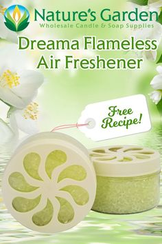 Free Flameless Air Freshener Recipe by Natures Garden