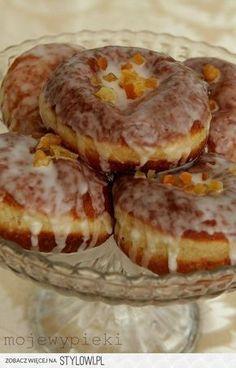 Doughnuts (Rezept I) Donut Recipes, Dessert Recipes, Cooking Recipes, Desserts, How To Cook Pancakes, Polish Recipes, Polish Food, Russian Recipes, No Bake Cake