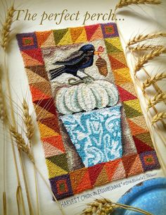 Michelle Palmer: Harvest of punch needle fun!