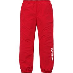 Supreme Warm Up Pant ❤ liked on Polyvore featuring bottoms