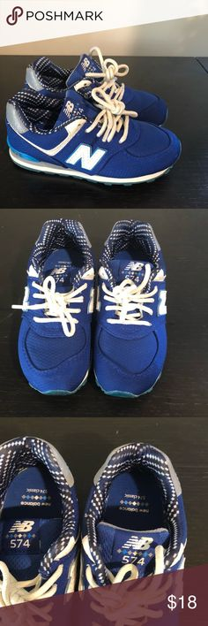 a0819b44494a7 Blue new balance sneakers Comfortable new balance sneaker only worn once New  Balance Shoes