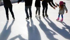 Pista de gelo em Elvas