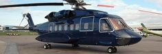 Sikorsky S-92 VVIP Configuration helicopter exterior