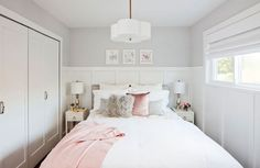 Love It or List It Vancouver: Lyanne & Chris' custom built closets in the bedroom were the saving grace for space!!