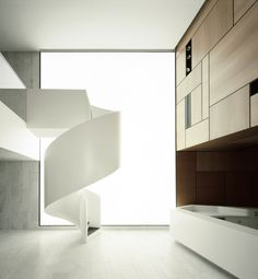 Staircase / Escalier - Bolles + Wilson (Just the Design) #Treppen #Stairs #Escaleras repinned by www.smg-treppen.de
