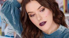 Video: Vampy Violet Red Carpet Makeup Look