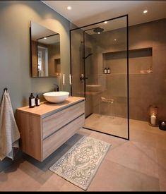 diy bathroom remodel small Unique small bathroom remodel ideas are amazing with a small budget # Scandinavian Bathroom Design Ideas, Modern Bathroom Design, Bathroom Interior Design, Minimal Bathroom, Bath Design, Classic Bathroom, Interior Modern, Key Design, Tile Design