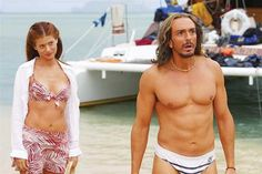 Pin for Later: The Best Bikini Moments in Movies Debra Messing, Along Came Polly Messing's two-piece is skimpy, yet her scuba instructor's suit is skimpier. Go figure.