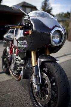 LUXE Motorcycle - Pipeburn - Purveyors of Classic Motorcycles, Cafe Racers & Custom motorbikes Ducati Desmo, Ducati Motorbike, Moto Ducati, Ducati Cafe Racer, Cafe Bike, Cafe Racer Motorcycle, Moto Bike, Ducati 1000, Ducati 848
