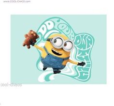 Do your own thing Magnet – Bob & Teddy Bear Minion Magnet