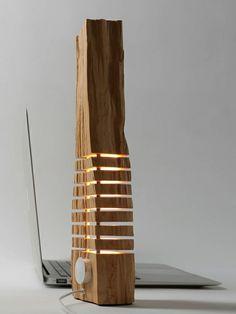 Designer Lampen Modernes Design Naturholz