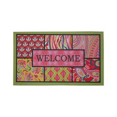 Have to have it. Mohawk Bohemian Welcome 2 Doormat - 18L x 30W in. $16.99