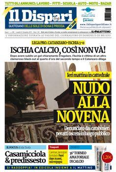La copertina del 21 dicembre 2015 #ischia #ildispari