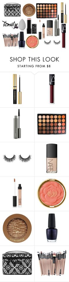 """Fall Glam"" by kitten-826 on Polyvore featuring beauty, NARS Cosmetics, MAC Cosmetics, Morphe, Milani, Sonia Kashuk, OPI, Petunia Pickle Bottom and beautyblender"