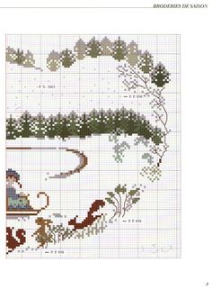 Gallery.ru / Фото #6 - 735 - Yra3raza Xmas Cross Stitch, Cross Stitch For Kids, Cross Stitch Pillow, Just Cross Stitch, Cross Stitch Heart, Cross Stitch Alphabet, Cross Stitch Flowers, Cross Stitching, Blackwork Embroidery