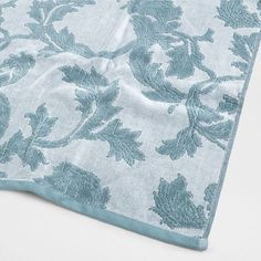 FLORAL PATTERN COTTON TOWEL - Towels & Bathrobes - Bathroom | Zara Home United Kingdom