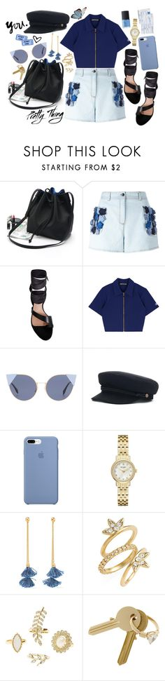"""Blue style🦋"" by shudenbaun on Polyvore featuring мода, WithChic, Fendi, Ginger & Smart, Kate Spade, Ben-Amun, Luv Aj, Charlotte Russe, Maison Margiela и NARS Cosmetics"