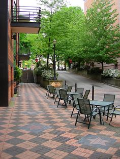 Scenic sidewalks in #Portland, Oregon