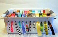 ribbon spool holder