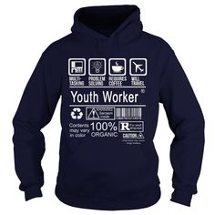 YOUTH WORKER CERTIFIED JOB TITLE T-Shirts, Hoodies. CHECK PRICE ==►…